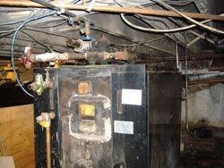 Old Hot Water Bouiler