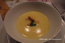 Maiscreme suppe