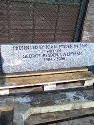 Granite Kerb in my workshp yard