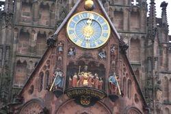 Mechanical clock in Nurenburg