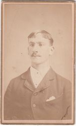 C. H. Hopkins, photographer, of Tecumseh, MI