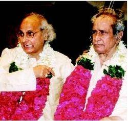 Pandit Jasraj and Bhimsen Joshi