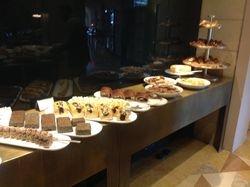 Breakfast at David Citadel in Jerusalem