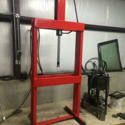 20 ton Hydraulic Press for Broaching