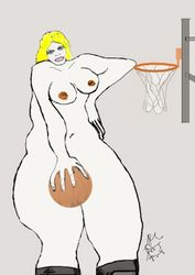 basketball lady