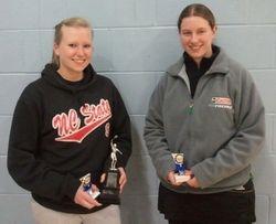Handicap Tournament Ladies Singles Finalists
