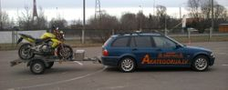 Motokursi-Auto-Piekabe-Motocikls