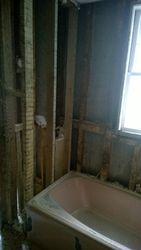 Opposite Bathroom Corner Gut