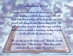 Revelation 21: 3-5