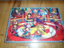 Janod Wood Circus Musical Seven-Piece Puzzle - $6