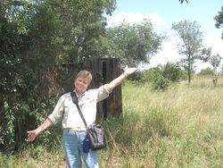 Geri on Safari