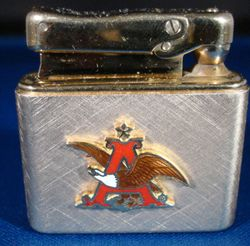 STAN MUSIAL'S Own Anheuser-Busch COLIBRI Engraved Lighter