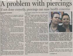 our article in The Press of Atlantic City Oct 22,2012