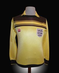 Admiral Match Worn England Ray Clemence Shirt