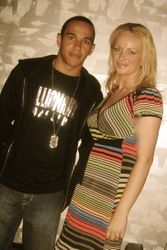 Lewis Hamilton & Delia Antal