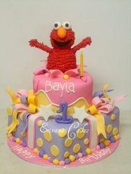 Elmo Cake 3 (B018)