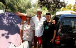 Camping in Italy, 2009