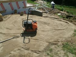 Compaction du terrassement