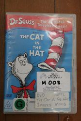 Dr Seuss. The cat in the hat DVD