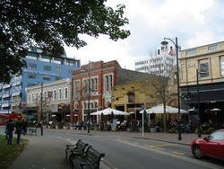 Oxford Terrace Strip 2003