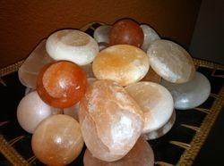 Variety of Himalayan Salt Stones