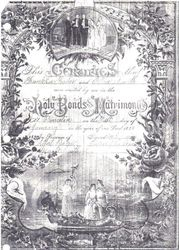 Franklin & Ellen Fisher Marriage Certificate