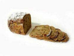 Spelt natuur noten/rozijnen brood