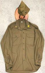 1st Leutnant. Early Mustard Shirt: