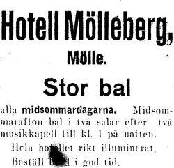 Hotell Molleberg 1924