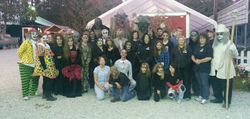 Some of the Haunted Barn Cast