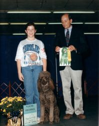 Lady winning Open A third place.  10/2/93.