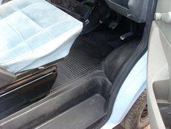 Repairing the front rubber matt