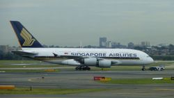 Singapore Airlines Airbus A380 9V-SKG