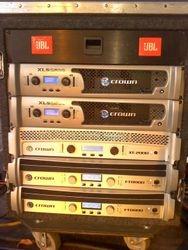 Power amp rack