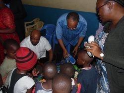Bishop at Inter-City Orphanage