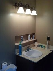 Drywall, Vanity, Light