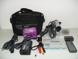 Sony HandyCam DCR-DVD201 Digital  Camcorder with Night Shot Plus