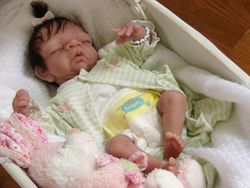 Silicone preemie girl CRISSY