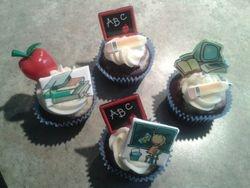 Cupcakes pour la semaine des professeurs