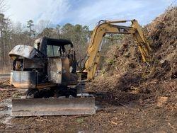 01/10/2020 Excavator Fire