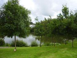 Memorial Garden And Lake