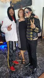 GP Entertainer, Gayle Schreiber, and MJ