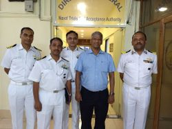 Officers of Indian Navy, my former students