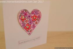 Demo Cards from the Heart Sentiment Collection