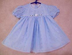 Broderie Anglais Dress  Size 18 mths