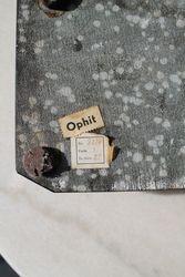 Ofito akmens rasalines etikete. Kaina 92 Eur.