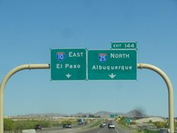should we turn left at Albaquerque???