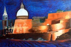 Valletta from Gzira - Oils