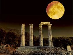 Athens Full Moon , 2014