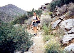 Hiking at White Tank Mountain